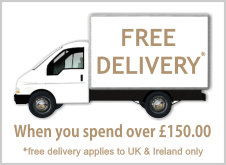 Free Delivery when you spend over £150